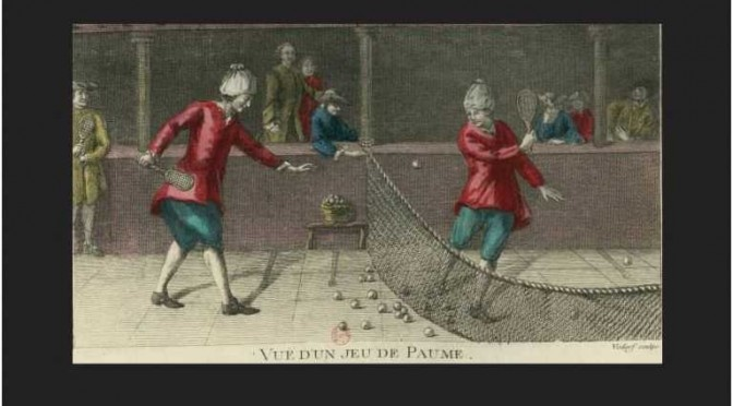 Le «Jeu de paume»: ancêtre du Tennis