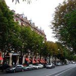 Hôtel Palace LE PLAZA ATHÉNÉE*****- Avenue Montaigne – PARIS