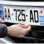 Les plaques d'immatriculation des voitures françaises changent en 2009