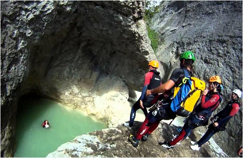 Canyoning - Les gorges du Verdon