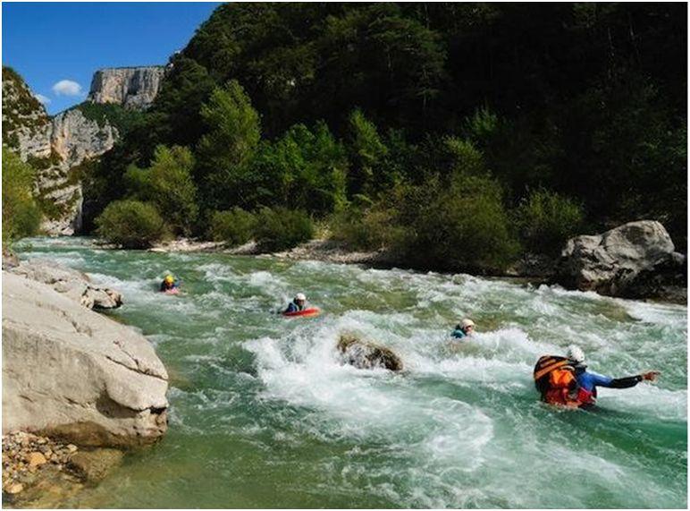 Hydrospeed - Les gorges du Verdon
